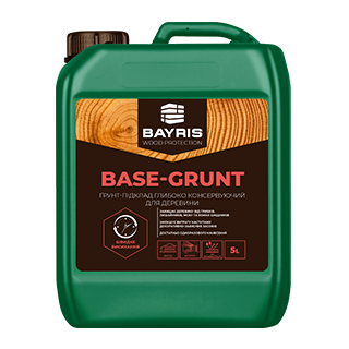 Ґрунт-підклад для деревини BASE-GRUNT (Глибоко консервуючий)