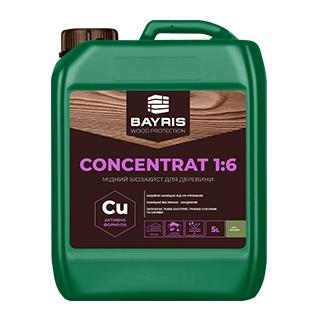 Мідний біозахист для деревини Concentrat 1:6 (Сіро-зелений)