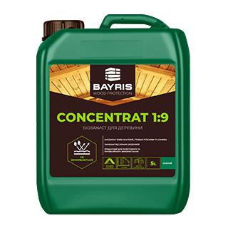 """Биозащита для древесины """"Concentrat 1:9"""" (Зеленая)"""