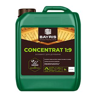 """Біозахист для деревини """"Concentrat 1:9"""" (Безбарвний)"""