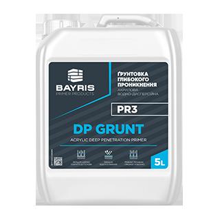 """Ґрунтовка глибокого проникнення """"DP Grunt"""" PR3"""