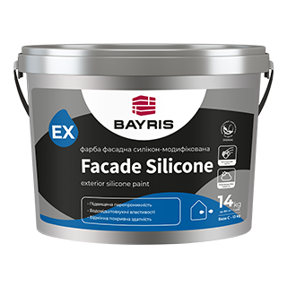 Краска фасадная Facade Silicone (Силикон-модифицированная) База A/C