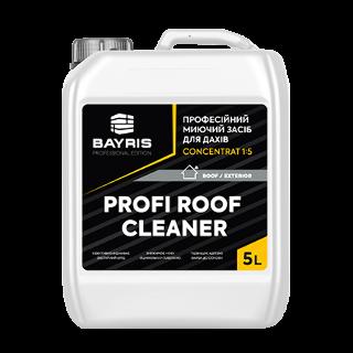 Професійний миючий засіб для дахів Profi Roof Cleaner. Concentrat 1:5