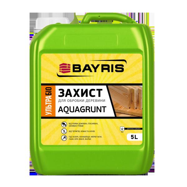 """Ультрабіозахист для деревини """"AQUAGRUNT"""""""