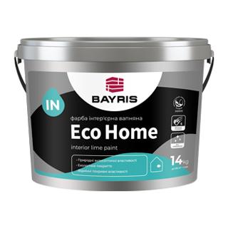 Краска интерьерная известковая Eco Home.